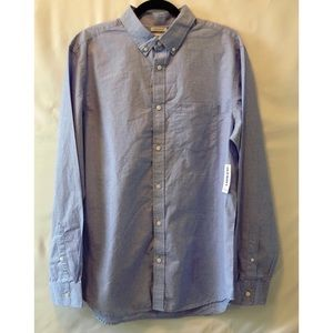 Old Navy Blue Casual Button Down